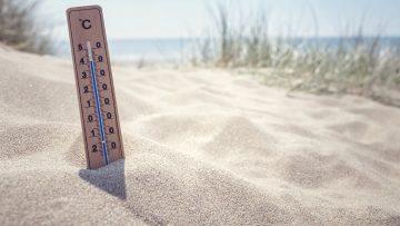 Steigende Temperaturen – bitte ohne Hitzepickel!